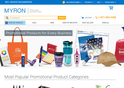 Myron Promotional Products & Business Gifts