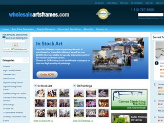 Wholesale Arts and Frames
