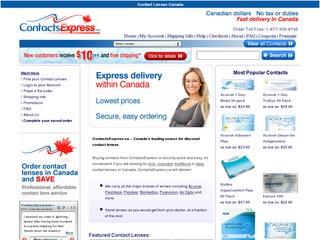 Contactsexpress.ca