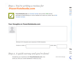 new survey process